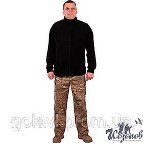 Куртка флисовая – цвет Черный