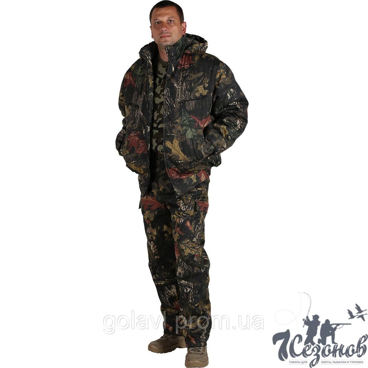 Зимний Камуфляжный костюм – Дубок темный