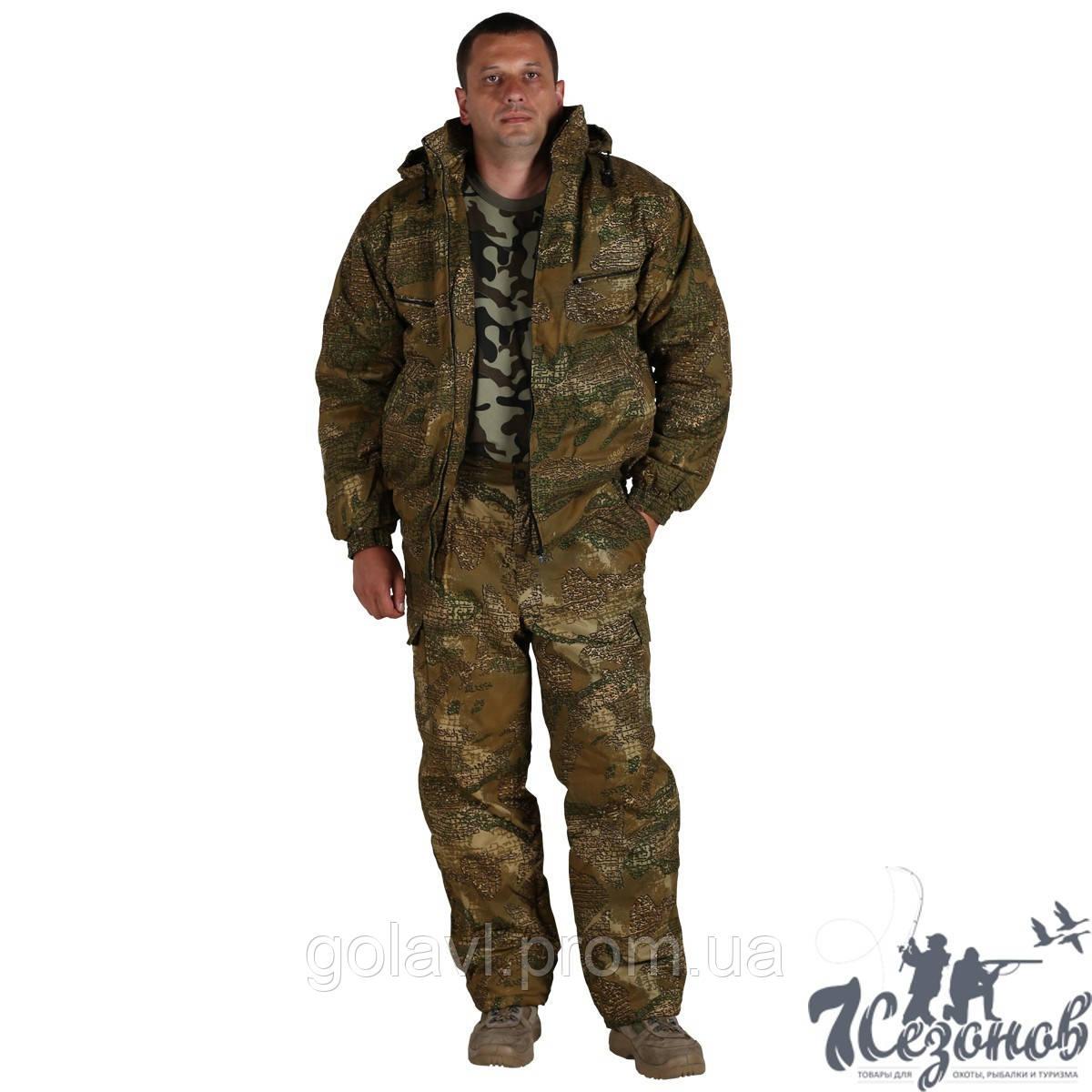 Зимний Камуфляжный костюм – Варан