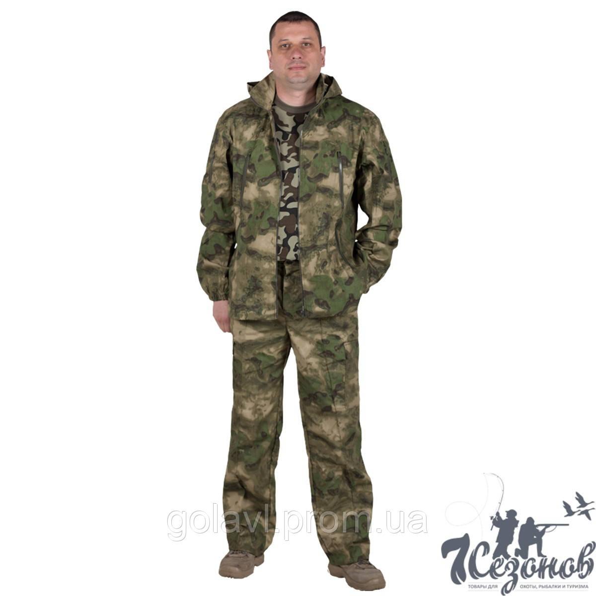 Камуфляжный костюм – Атакс зеленый (удлиненный)