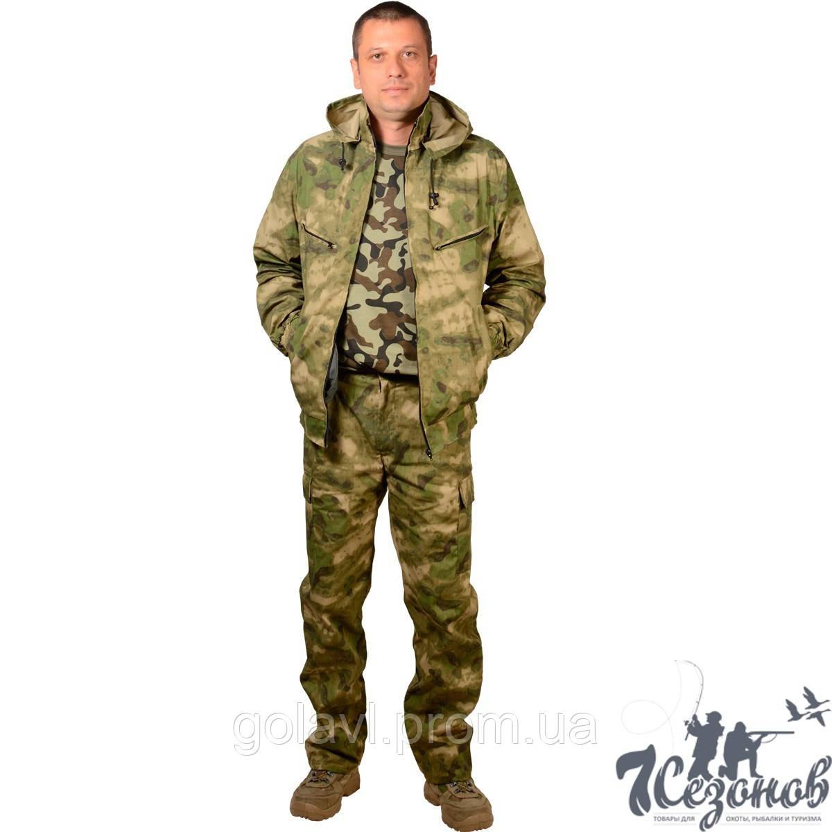Камуфляжный костюм – Атакс зеленый