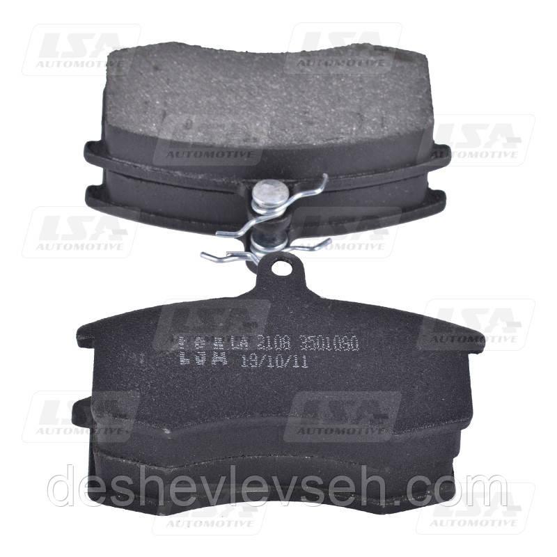 Колодка передняя торм. ВАЗ-2108 (LA 2108-3501090), 2108-3501090 (LSA)