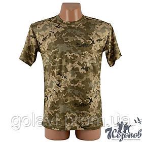 Тактическая камуфляжная футболка – пиксель ВСУ