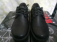 Кожаные комфортные туфли на шнурках Detta