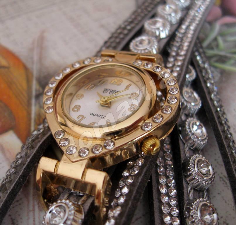 5b45f9749469 Женские часы-браслет со стразами CCQ Gray  115 грн. - Наручные часы ...