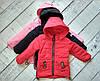 Куртка для дівчинки осіння , 3-8 років