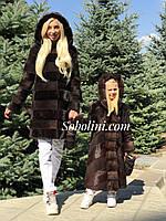 Шубы из южно-американского бобра мама+дочка , фото 1