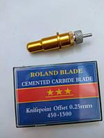 Держатель 11,5 мм и 1 износостойкий нож 60 градусов для плоттера Roland