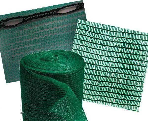 Cетка полимерная для затенения 50% KARATZIS 2 х 50 м, фото 2