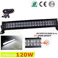 Led прожектор (светодиодная фара) 120W 12-24V