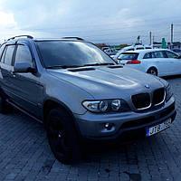 Дефлекторы окон (ветровики) BMW X5 E53 2000-2007 4D 4шт(HIC)