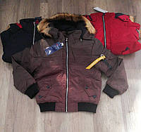 Куртки зимние на мальчика оптом, Nature, 10/11-16/17 рр