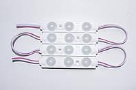 Светодиодный модуль с линзой 3 LED SMD 5730