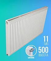 Радиатор стальной панельный ТИП 11 РК E.C.A. 500×1000 (боковое подключение)