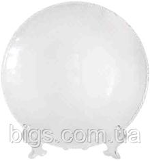 Тарелка стекло Пиксель 25 см ( красивые тарелки )