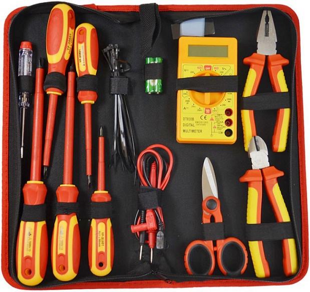 Набор инструментов для электрика 20 элементов
