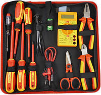 Набор инструментов для электрика 20 элементов, фото 1