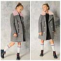 Топ продаж! Демисезонное пальто на девочку Размеры 122- 128 Новинка осени, фото 2