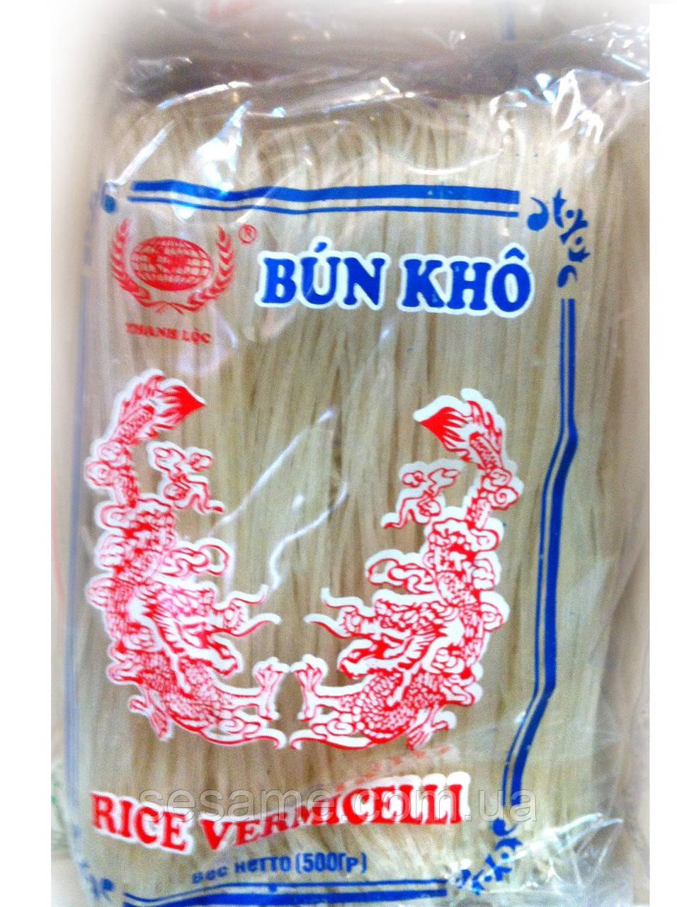Рисовая вермишель тонкая Bun Kho Thanh Loc 500г (Вьетнам)
