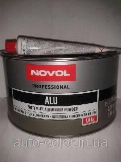 Шпаклівка з алюмінієвою пудрою Novol Alu 1,8 кг