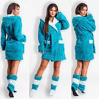 Набор халат с сапожками Модель 0010