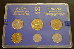 Минт сет Финляндии, 1984 г