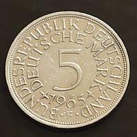 5 марок, 1965 F Германия (Серебро)