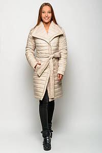 Зимняя куртка женская 17308, (Бежевый)