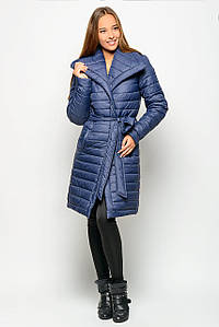Зимняя куртка женская 17308, (Т. синий)
