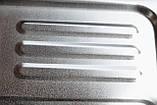 Квадратная кухонная мойка Platinum 3838B Satin 0,6мм, фото 6