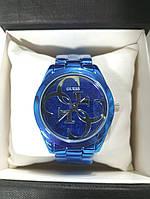 Женские часы Guess blue
