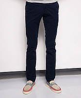 0014-0001 LS темно-синие вельветовые молодежные брюки (27-34, 8 ед.), фото 1
