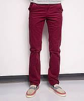 0014-0013 LS красные вельветовые молодежные брюки (27-34, 8 ед.), фото 1