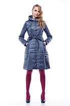 Женское пальто хаки на плащевке расклешенное приталенное весна-осень 2018, размер 42-50, фото 2