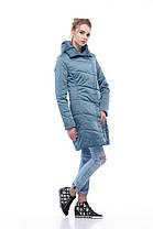 Пудровое пальто ниже бедра весна-осень 2018, размеры 44-54, фото 2