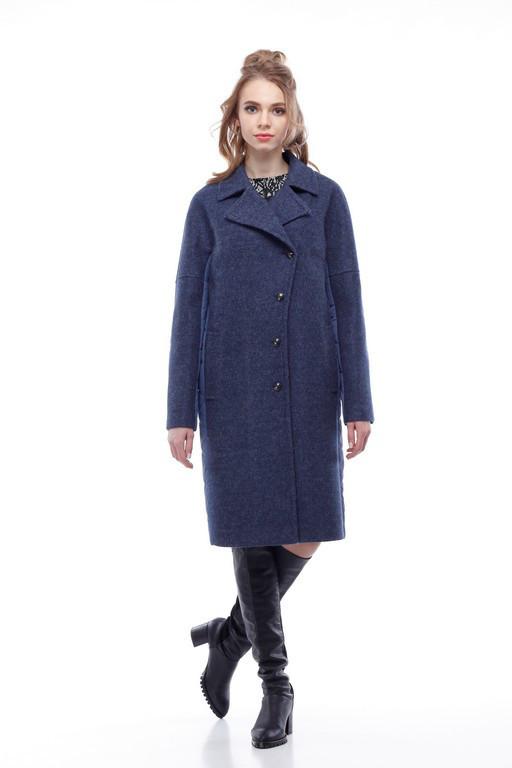 Женское пальто синий джинс a6fd3c7140f17