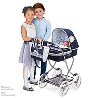"""Коляска классическая для куклы """"Романтик"""" DeCuevas 80225 высота 90 см, фото 1"""