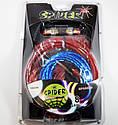 Набор проводов для усилителя / сабвуфера 1500 Вт Spider, фото 2