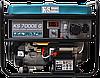 Бензиновый генератор Konner&Sohnen KS 7000E G (5,5 кВт)