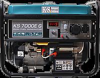 Бензиновий генератор Konner&Sohnen KS 7000E G (5,5 кВт), фото 1