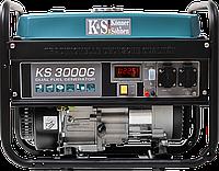 Бензиновий генератор Konner&Sohnen KS 3000-G (3 кВт), фото 1