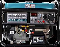 Бензиновый генератор Konner&Sohnen KS 7000E 1/3 (5,5 кВт), фото 1