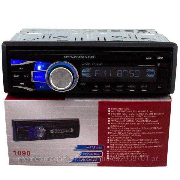 Автомагнитола Pioneer 1090/iso с USB, FM, MP3 + съемная панель! НОВАЯ