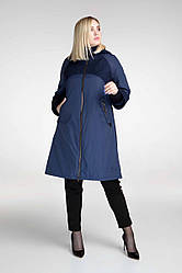 Пальто удлиненное А-образного силуэта  Разные цвета