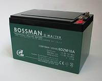 Bossman Master 6DZM10 - GEL12100 (12 V, 10 Ah), фото 1