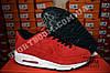 Кроссовки Nike Air Max 90 VT Red Красные женские Замш, фото 2