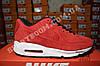 Кроссовки Nike Air Max 90 VT Red Красные женские Замш, фото 4