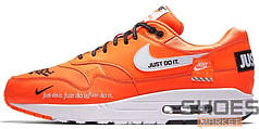 "Мужские кроссовки Nike Air Max 1 SE LX ""Just Do It"" Orange"