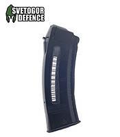 Магазин 5,45х39 на 30 патронов пластиковый с окном SDMAG-30 (Украина) для АК, фото 1