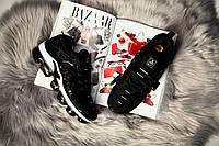 Мужские кроссовки Nike Air Max Tn Vapormax Plus 2018 Black/White